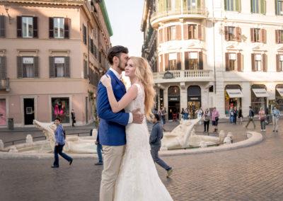 Via condottiwedding photo photographer Rome Italy