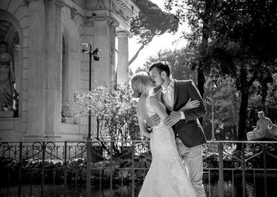 lago villa borghese свадебная фотосессия в риме