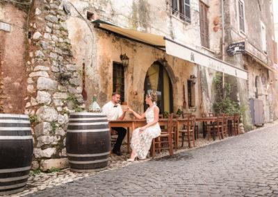wedding photo photographer Rome Italy sermoneta mediaval town