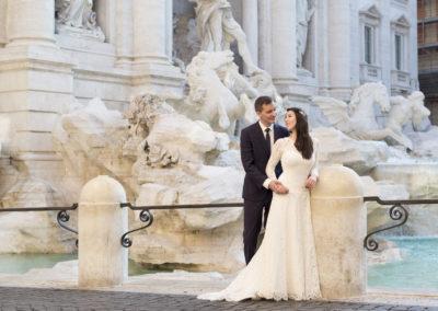 weddinginrome_fontanaditreviфотосессия в риме фотограф в италии