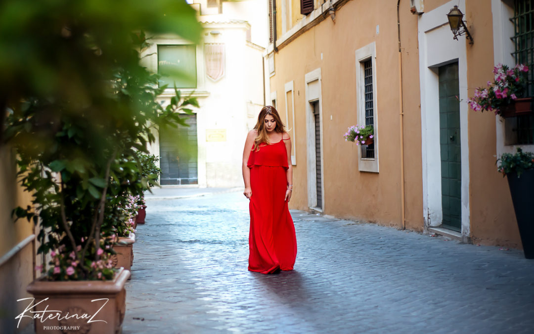 Curvy Plus Size Model Photoshoot in Rome