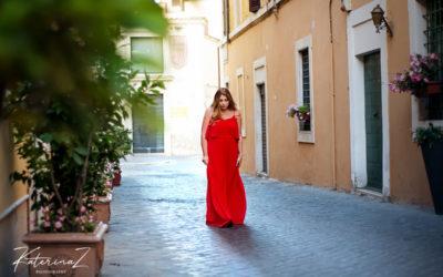 Фотосессия в Риме с моделью Plus Size