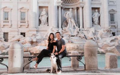 Couple photoshoot in Rome